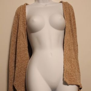 URBAN OUTFITTERS BROWN KNIT CARDIGAN